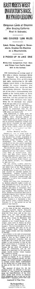 File:1919 Transcontinental Air Race on October 10, 1919 in the New York Times.pdf