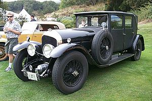Bentley Speed Six - 1927 Bentley 6½ Litre with H. J. Mulliner & Co. limousine body
