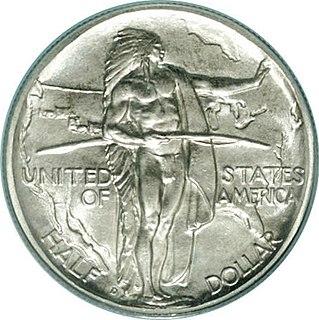 Oregon Trail Memorial half dollar US commemorative 50-cent coin