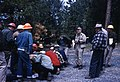 "1960. ""Pest School"" Walter J. Buckhorn (center, right) conducting insect control training session. Baker, Wallowa-Whitman National Forest, Oregon. (34465446624).jpg"