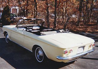 Compact car - 1964 Chevrolet Corvair Monza 900 Convertible