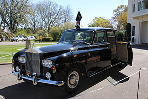 Governor-General of Australia - 1970 Rolls-Royce Phantom VI limousine, the official car used on ceremonial occasions to transport the Governor-General of Australia and visiting heads of state.