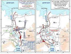 חומרי גלם ממלחמת יום כיפור 250px-1973_sinai_war_maps2_HE