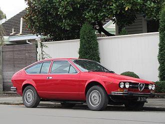 Alfa Romeo Alfetta - Image: 1978 Alfa Romeo Alfetta GTV (7254572400)