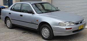Holden Apollo - Image: 1995 Holden Apollo (JM) SLX sedan (21919086283)