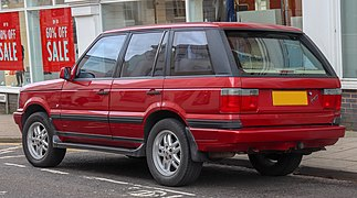 1998 Land Rover Range Rover Limited Edition Autobiography 4.6 Rear.jpg