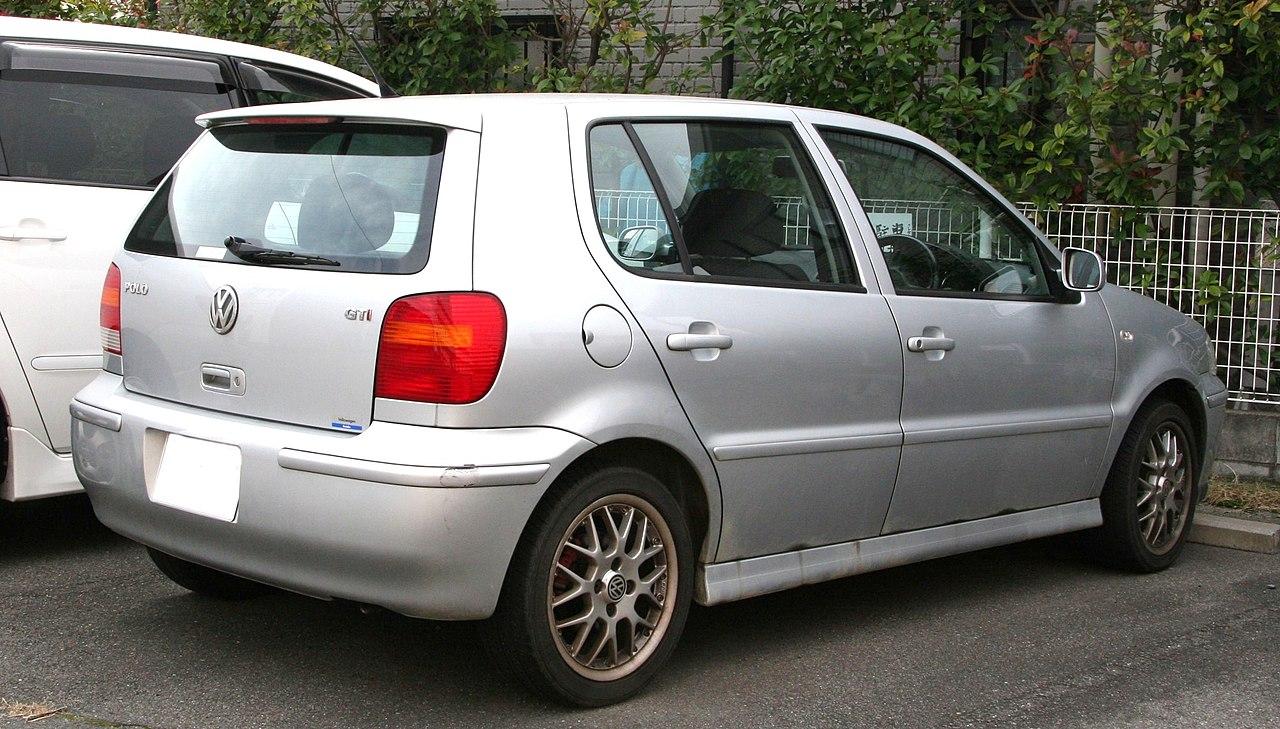 file:1999-2001 volkswagen polo gti rear - wikimedia commons
