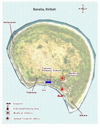 Banaba Island - Banaba Island (formerly Ocean Island)