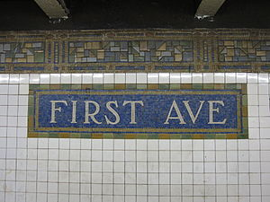 First Avenue (BMT Canarsie Line)