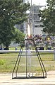 1st liquid fueled rocket Goddard, 1926, recreation, ignition.jpg