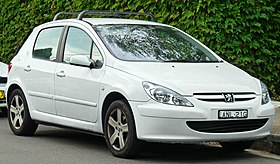 280Px 2001 2005 Peugeot 307 (T5) 5 Door Hatchback (2011 03 10)