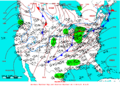 2005-03-07 Surface Weather Map NOAA.png