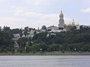 Ukrainian Orthodox Church (Moscow Patriarchate) - The 11th century Kiev Pechersk Lavra in Kiev