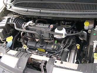 Chrysler 3.3 & 3.8 engine - Image: 2005 Chrysler Town and Country LX 3.3 engine