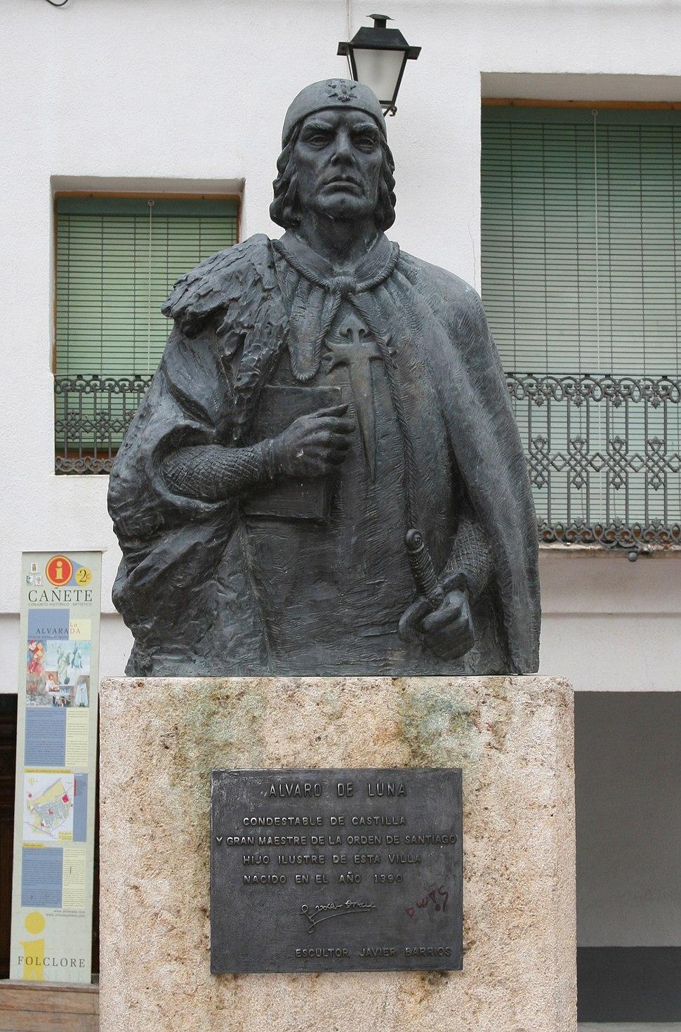 20070414 - Estatua de don Álvaro de Luna