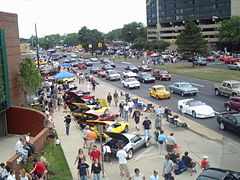1995 : First Woodward Dream Cruise