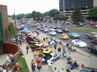 Birmingham, Michigan - Woodward Dream Cruise