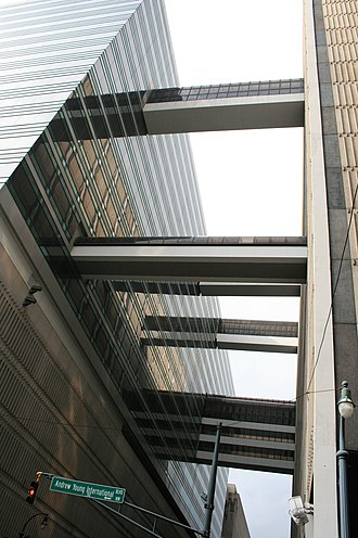 Skyway - Skyways in the Peachtree Center district of Atlanta.