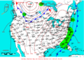 2009-05-18 Surface Weather Map NOAA.png