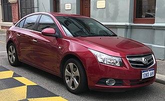 Chevrolet Cruze - Holden Cruze CDX sedan (JG; pre-facelift)
