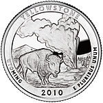 Yellowstone quarter