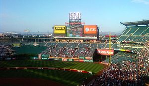 2010 Major League Baseball All-Star Game - The 2010 All-Star Game marked the third time Angel Stadium hosted the matchup