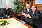2011-11-17 Владимир Путин, Сергей Собянин, Александр Масляков (1).jpeg