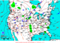 2013-07-14 Surface Weather Map NOAA.png