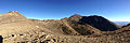 2014-10-03 08 19 23 Panorama north and east from a saddle north of Alpha Peak in the Diamond Mountains, Nevada.JPG