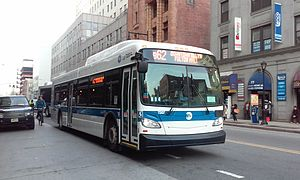 Crosstown Line (Brooklyn surface) - Image: 2014 15 XD40 MTA NYCT bus