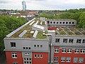 20140614 xl wiki 6784 GLS Bank, Christstraße 9, 44789 Bochum, Solaranalgen auf dem Dach.JPG