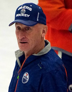 Craig Ramsay - Ramsay at the 2014 Edmonton Oilers training camp