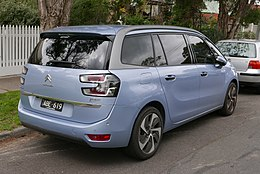 2014 Citroën Grand C4 Picasso (B7) Exclusive van (2015-06-25) 02.jpg