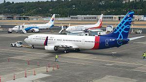 Sriwijaya Air - Sriwijaya Air - Boeing 737-900ER