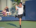 2015 US Open Tennis - Qualies - Jose Hernandez-Fernandez (DOM) def. Jonathan Eysseric (FRA) (20346133673).jpg
