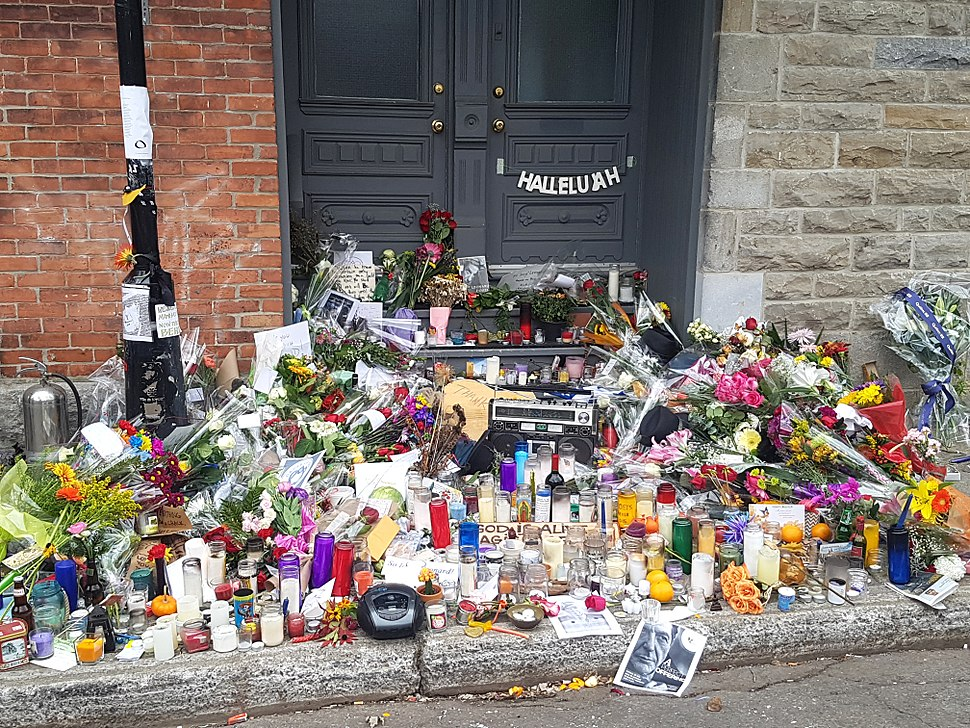 2016-11-12 Leonard Cohen memorial Montreal (30927893376)
