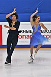 2016 Rostelecom Cup Elliana Pogrebinsky Alex Benoit IMG 2298.jpg