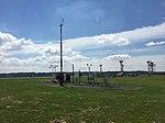 2017-06-06 10 37 18 View southeast toward the Automated Surface Observing System (ASOS) at Ronald Reagan Washington National Airport in Arlington County, Virginia.jpg