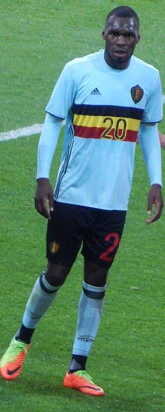 Christian Benteke - Benteke playing for Belgium in 2017