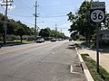 2018-05-25 16 30 42 View south along New Jersey State Route 36 (Joline Avenue) at Monmouth County Route 57 (Ocean Boulevard) in Long Branch, Monmouth County, New Jersey.jpg
