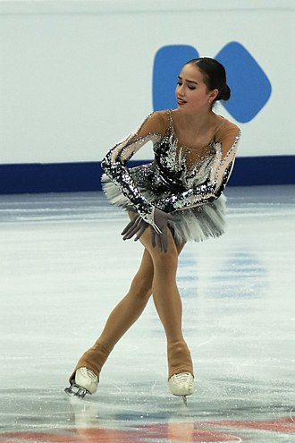Short program (figure skating) - Alina Zagitova performing her short program at the 2018 European Figure Skating Championships
