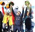 2020-03-01 Flower Ceremony Skeleton Mixed Team competition (Bobsleigh & Skeleton World Championships Altenberg 2020) by Sandro Halank–006.jpg