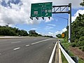 2020-06-21 09 47 52 View south along Maryland State Route 2 (Solomons Island Road) at the exit for Maryland State Route 665 WEST (TO Interstate 97-U.S. Route 50-U.S. Route 301) on the edge of Parole and Annapolis Neck in Anne Arundel County, Maryland.jpg