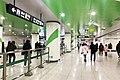 20200116 Concourse of Zhengzhou Metro Nanwulibao Station.jpg