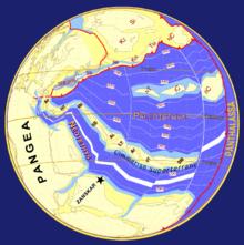 Paleo-Tethys Ocean 249 Ma