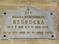 250513 Commemorative plaque in the Saint Florian church in Koprzywnica - 03.jpg