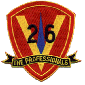 Ralph Heywood - Image: 26th Marines insignia