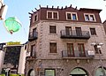 327 Antiga Clínica Vilanova, façana pl. Príncep Benlloch (Andorra la Vella).JPG