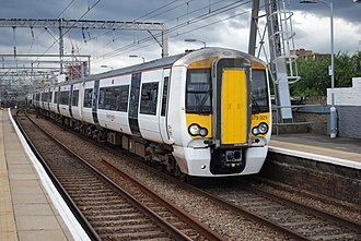 West Anglia Main Line - Image: 379 011 Bethnal Green(8091060727)
