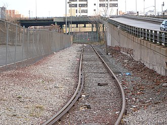 South Brooklyn Marine Terminal - Connector from waterfront to 38th Street Yard and the South Brooklyn Railway.